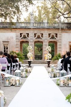 """FLORIDA: VIZCAYA MUSEUM AND GARDENS  The winter home of James Deering in the 1910s, this National Historic Landmark features a Renaissance-style villa and romantic gardens—the perfect spot to say """"I do.""""  3251 South Miami Ave., Miami; 305-250-9133 or vizcaya.org"""