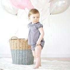 Blusita Baby Stars Gris by B&S Clothes | BelandSoph.com