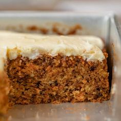 Homemade Carrot Cake, Easy Carrot Cake, Sheet Cake Recipes, Cake Mix Recipes, Baking Recipes, Tandy Cake, Vanilla Sheet Cakes, Peanut Butter Sheet Cake