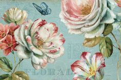 Spring Romance lll print by Lisa Audit