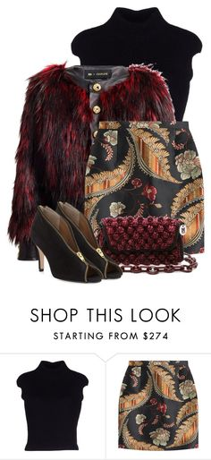 """""""2nd Redo 1/4/16"""" by tararanee ❤ liked on Polyvore featuring Dsquared2, Balmain and Neiman Marcus"""