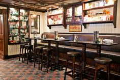Classic Restaurant Interior Design of Ri Ra Irish Pub, Las Vegas Furniture