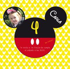 Fiesta de cumpleaños de Mickey Mouse