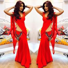10 Shilpa Shetty Saree Looks That Set Fashion Goals For 2017 | The Ethnic Soul