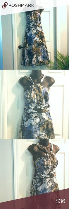 Spotted while shopping on Poshmark: NWOT Stunning Halter Dress by CONNECTED! #poshmark #fashion #shopping #style #connected apparel #Dresses & Skirts