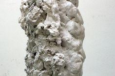 Ursprung #1  July 2016 rolling transport element, plaster, pigment, resin  © porte renaud www.porterenaud.com Plaster, Resin, Sculpture, Statue, Artwork, Plastering, Work Of Art, Sculpting, Sculptures