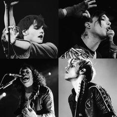 Gerard Way, Frank Iero, Ray Toro and Mikey Way