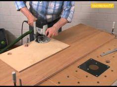 Topfscharniere: einbauen mit Schablone - Anleitung von HolzwerkenTV