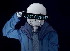 Cute Sans by LizheruBones on DeviantArt - Just Give Up, Alright? by Mini-Raspberries - Undertale Quotes, Undertale Gaster, Undertale Pictures, Undertale Drawings, Undertale Ships, Undertale Fanart, Frisk, Sans Sad, Hanya Tattoo