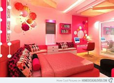 Cool room for teens