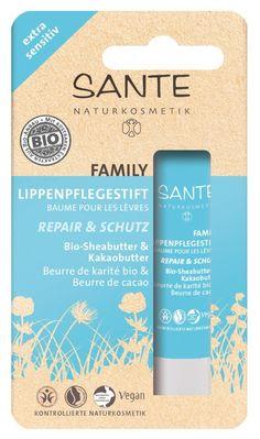 Family balzam za ustnice bio karite in kakav extra sensitiv - 4.5 g € 1,99