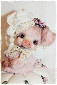 Shabby Chic by By Sadovskaya Tatiana   Bear Pile
