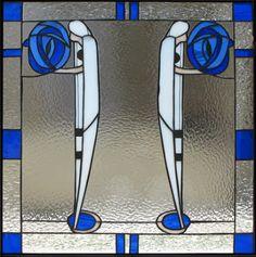 Charles Rennie Mackintosh, stained glass.