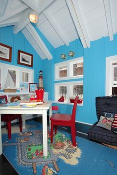 nantucket beach cottage interior
