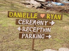 Rustic Wedding Signs wood signs beach custom by primitivearts, $75.00