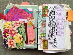 Shabby chic junk journal in progress | by nanette_818