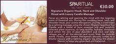 Luxury Organic Head, Neck and Shoulder Ritual