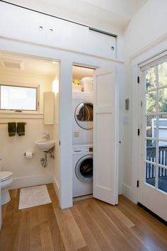 Sectionals For Small Living Rooms small laundry room (closet) inside of a bathroom – clean, white, efficient, lots of natural light A nice example ofInside and outside, Bathroom Ideas: Waru Laundry Room Bathroom, Small Laundry Rooms, Laundry Room Design, Small Living Rooms, Bath Room, Bathroom Small, Bathroom Ideas, Bathroom Storage, Laundry In Kitchen