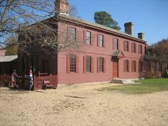 Peyton Randolph House in Colonial Williamsburg, Va.  Considered to be the most haunted house on the east coast.