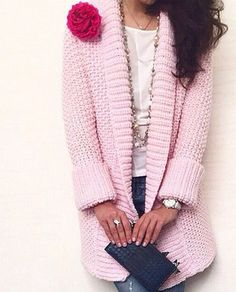 Wrap Cardigan Crochet Pattern - Page 20 of 55 - apronbasket . Crochet Coat, Crochet Jacket, Knitted Coat, Crochet Clothes, Knitting Patterns Free, Baby Knitting, Crochet Patterns, Knitting Needles, Crochet Cardigan Pattern