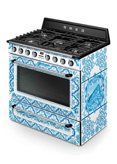 Shop Dolce & Gabbana x SMEG Majolica Gas Range from Smeg at Horchow, where you'll find new lower shipping on hundreds of home furnishings and gifts. Smeg Kitchen, Kitchen Appliances, Kitchens, Kitchen Utensils, Kitchen Decor, Strawberry Cosmetics, Smeg Stand Mixer, Dish Organization, Home