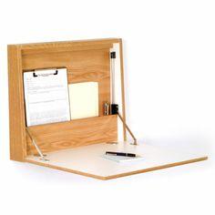 1000 bilder zu b ro b rom bel schreibtisch home office auf pinterest hausb ro - Klappschreibtisch wand ...