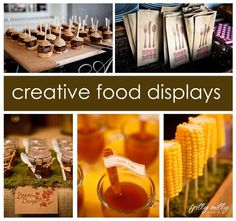 picture+display+ideas+for+party | food display ideas party-ideas | Leah bat mitzvah