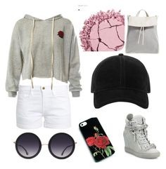 """""""Nothing on you"""" by gjgoss on Polyvore featuring Frame, Skagen, Urban Decay, Sans Souci, Giuseppe Zanotti, Alice + Olivia and rag & bone"""