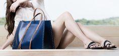 Callista crafts in blue