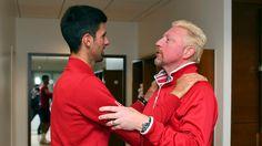Tennis-Traumehe wohl geschieden: Medien: Becker und Djokovic trennen sich