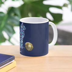 'Disco cat and disco ball' Mug by StefaniaAlina Cat Mug, Disco Ball, Art Prints, Mugs, Printed, Awesome, Artist, People, Gifts