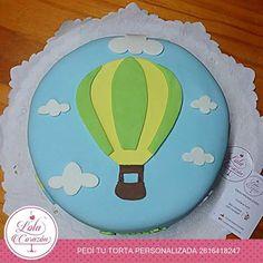 Cake  Un globito aerostático para Santi! www.facebook.com/lolacorazon.tortas www.instagram.com/lolacorazon.tortas