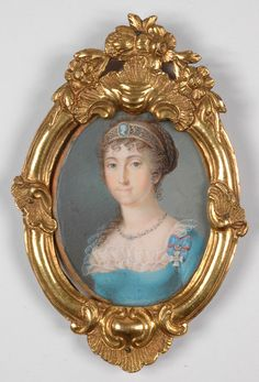 Caroline, Queen of Bavaria in 1805 - 1810 by Mayr | Grand Ladies | gogm