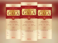 Great design doesn't have to be hard. Check out #Anniversary #Gala #Ticket Template by @godserv on @CreativeMarket https://crmrkt.com/EzdNd