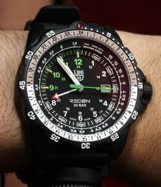 Luminox Recon NAV SPC And Point Man Watches Hands-On Hands-On