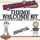 This baseball themed classroom welcome pack is jampacked with everything you need to create a great environment that will excite kids from day one!...