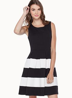 Exclusively from Twik     Black and white is in! Wear this delicious style…