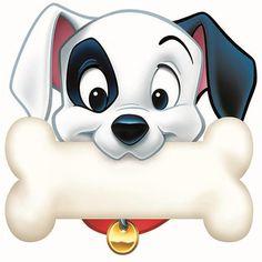 Eureka 101 Dalmatians Dog Bone Paper Cut-Outs - Trend Disney Party 2020 Clipart, Mickey Mouse Silhouette, Lilo Et Stitch, Disney Classroom, Bone Crafts, Art Crafts, Puppy Images, Dalmatian Dogs, Dog Bones