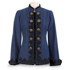 Victorian Denim Jacket
