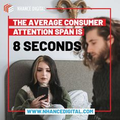 The attention span of the average ad viewer is growing ever shorter, So how can you capture this shrinking resource with your digital marketing tactics? To get a viewer's interest, you'll need to incorporate some best practices for keeping your ads short, punchy and useful. #mondaymarketing #marketingmonday #mondaymotivation #marketingtips101 Social Media Marketing Agency, Marketing Tactics, Digital Marketing, Seo Manager, Attention Span, Management Company, Monday Motivation, How To Get, Ads