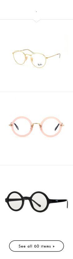 """."" by thaisinhafontesgomes on Polyvore featuring men's fashion, men's accessories, men's eyewear, accessories, eyewear, eyeglasses, glasses, sunglasses, pink e pink eyeglasses"