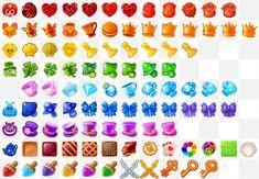 ArtStation - Alice in Wonderland, Denis Shevtsov Game Icon Design, Match 3 Games, Game Gui, Cg Art, Game Item, Alice In Wonderland, Symbols, Artwork, Projects