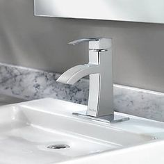 single hole bathroom faucet with base plate - Google Search