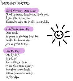 Morgengebet Katholisch