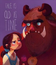 Visual Development Artist B. Blue (Interview Interview with an Artist B.Blue – And her Artwork – Tale as Old as Time. Disney fan art beauty and the beast character design illustration Disney Illustration, Illustration Sketches, Character Illustration, Art Illustrations, Denis Zilber, Punk Disney Princesses, Princess Disney, Disney Fan Art, Disney Disney
