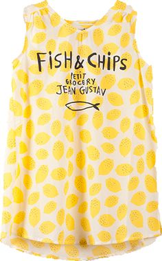 Fish and Chips Dress  Bobo Choses SS13 at Shan and Toad