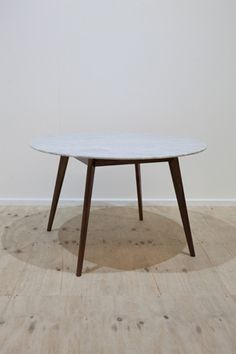marble console table round dining