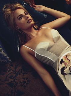 Margot Robbie by Alexi Lubomirski for Vogue Australia March 2015