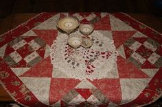 Quilted table top