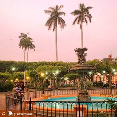 http://OkGranada.com @g_adventuras: Beautiful pink #sunset #Granada #Nicaragua #ILoveGranada #AmoGranada #Travel #CentralAmerica